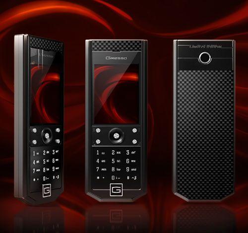 Телефоны Gresso Grand Monaco с духом Формулы 1