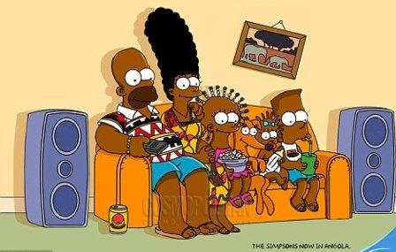 Симпсонов перекрасили