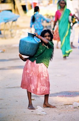 Нищие калеки в Индии