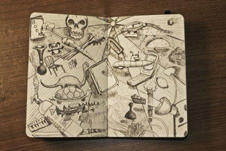 Зарисовки Michael Murdock