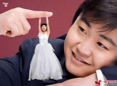 Мини-невесты - новая мода
