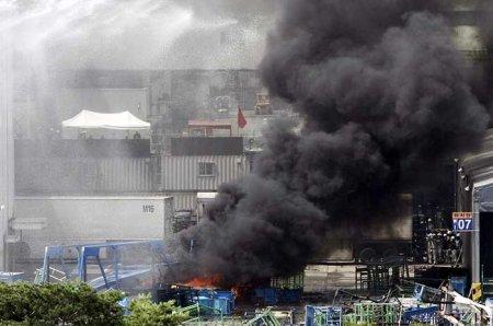 На заводе SsangYong войн
