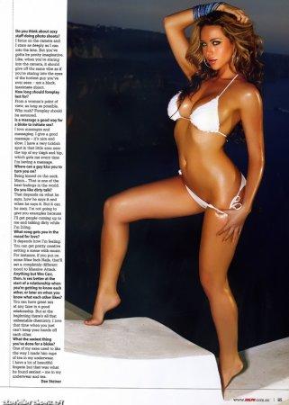 Эмили Скотт - самая сексуальная женщина Австралии