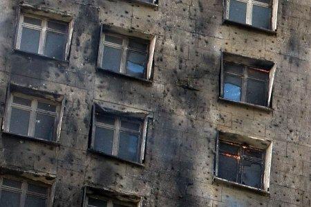 Как горят новые дома