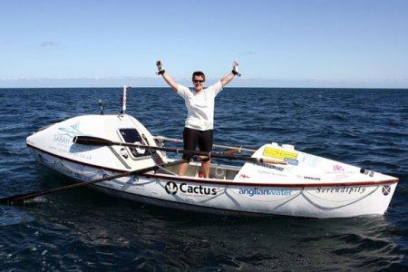 Сара Оутен: на байдарке через Индийский океан