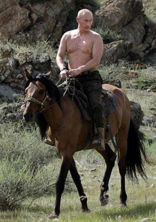 Активный отдых Путина
