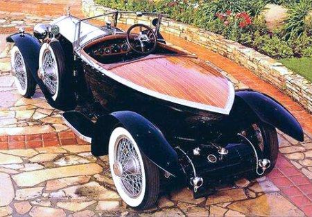 Бесшумный экипаж Rolls-Royce Silver Ghost