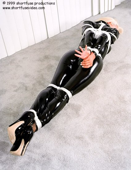 Girl in latex. Part 3