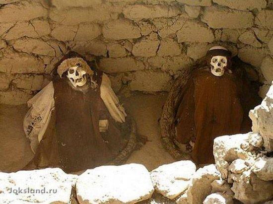 Самые невероятные похоронные ритуалы