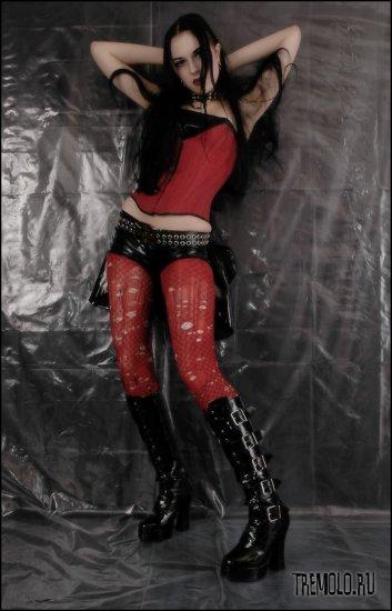 Girl in latex. part.6