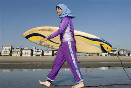 Иранские серфингистки