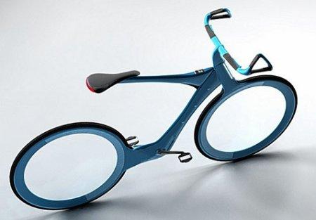 Олимпийский чемпион изобразил типовой велосипед будущего