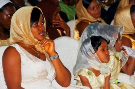 Африканская свадьба на европейский лад