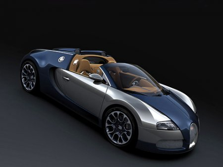Суперкар Bugatti Veyron в очередной раз раскрасили
