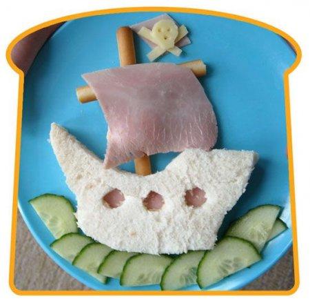 Прикольные сандвичи