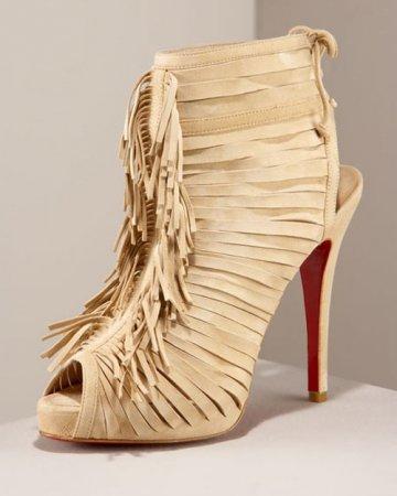 Коллекция обуви и сумок Christian Louboutin осень'2009