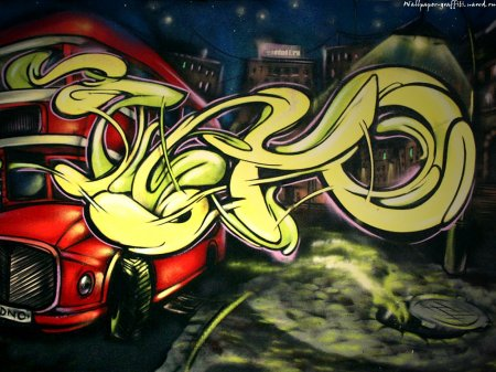 Граффити. Обои на рабочий стол 1600х1200