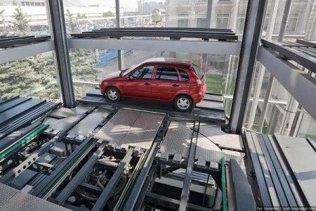 Многоэтажный автоматизированный паркинг