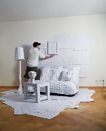 Бумажная комната