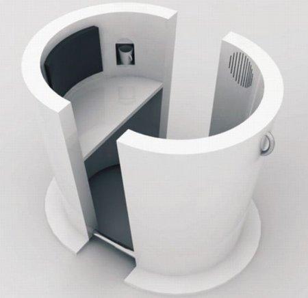 Coffee Workstation - необычное рабочее место в виде чажки