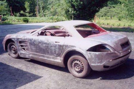 Машинка из металлолома