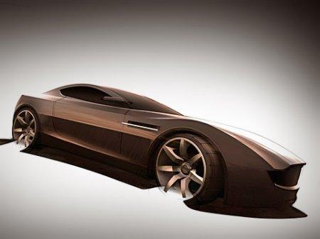 Британский дизайнер нарисовал экологически чистый Aston Martin