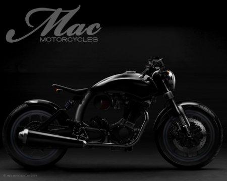 Кастом байки от компании Mac Motorcycles