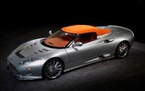 Стильный суперкар Spyker C8 Aileron Spyder