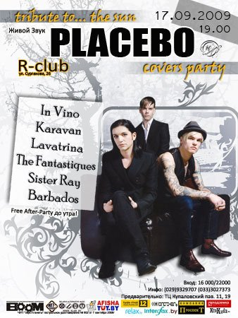17.09.09 - PLACEBO covers party @ R-CLUB