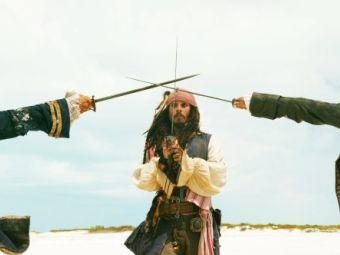 """Джек Воробей раскрыл название четвертых """"Пиратов Карибского моря"""""""