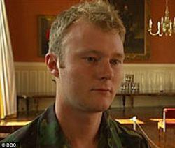 Британский офицер в штыковом бою