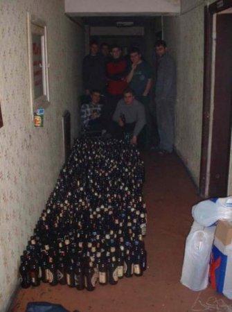 Пиво, однако...