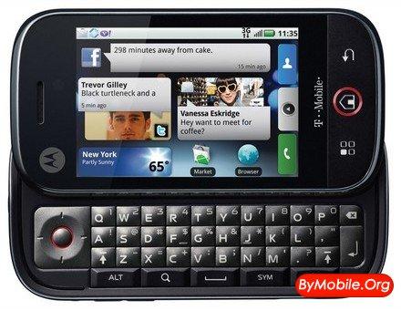 Motorola представила свой первый «гуглофон»