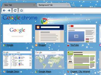 Вышел браузер Google Chrome 3.0