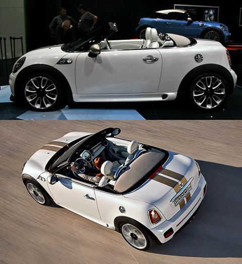 Мотор-шоу во Франкфурте почтил своим присутствием концепт Mini Roadster