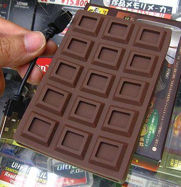 """""""Шоколадный"""" корпус для внешнего винчестера"""