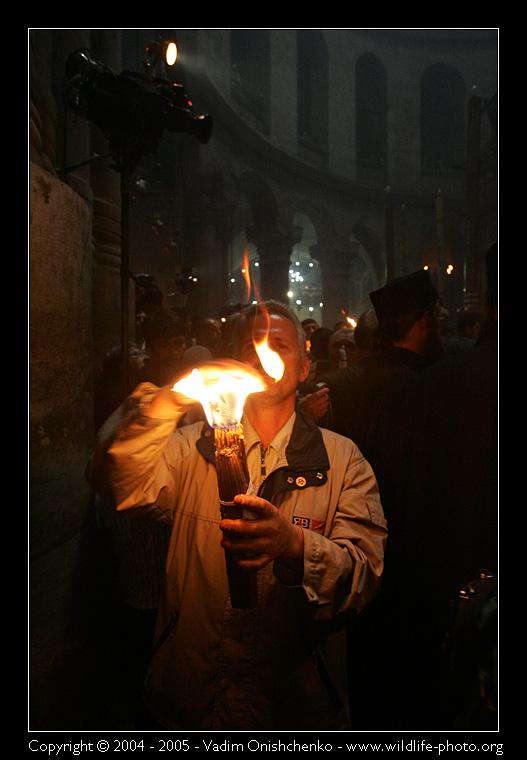 Чудо благодатного огня