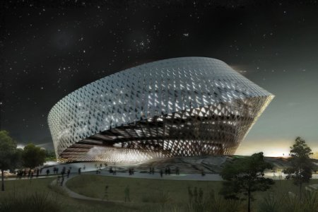 Проект национальной библиотеки в Астане