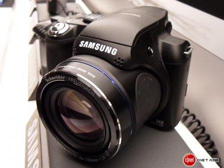 Samsung WB5000: 12-мегапиксельный суперзум с записью HD-видео