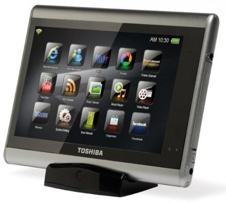 "Toshiba анонсировала 7"" планшетник Journ.E Touch"