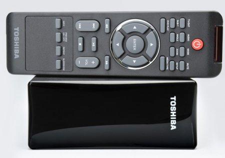 Toshiba StorE TV - бытовой медиаплеер со встроенным винчестером
