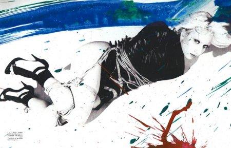 Леди Гага и бандаж