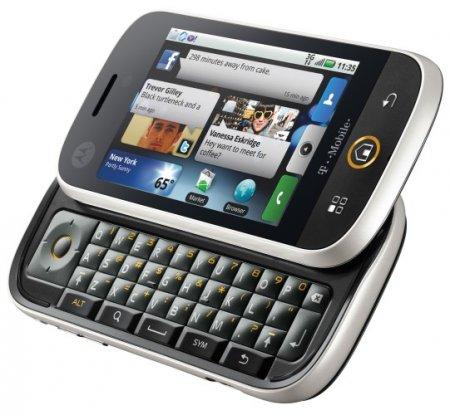 Первый Android-телефон Motorola оказался слайдером