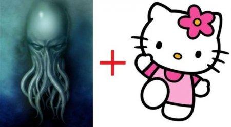 Ktulhu + Hello Kitty