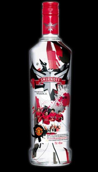 «Смирнофф» выпустил водку «Манчестер Юнайтед»