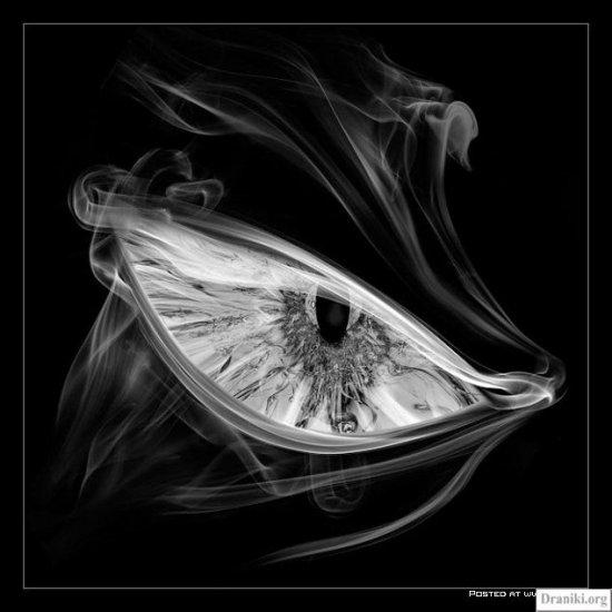Рисунки дымом