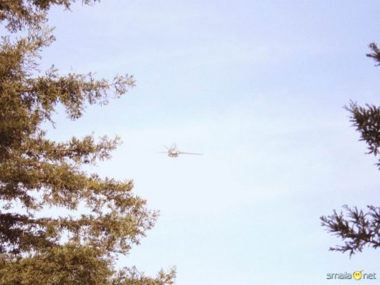 Что было в небе над Калифорнией ?