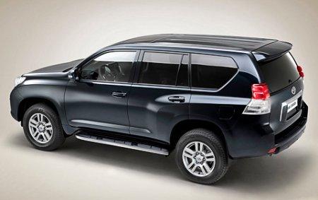 Toyota привезла во Франкфурт почти новый Land Cruiser Prado
