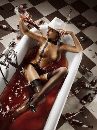 Горячая ванна очень опасна!