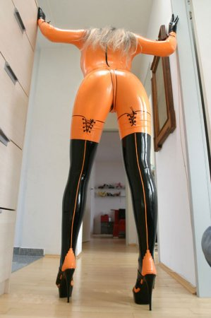 girls in latex part.14